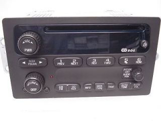 02 03 GMC CHEVY CHEVROLET Blazer Jimmy S10 S15 Sonoma Radio Stereo CD