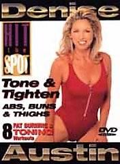 Denise Austin   Hit the Spot Tone Tighten Abs, Buns Thighs DVD, 2000