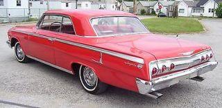 Chevrolet  Impala Super Sport 1962 Chevy Impala SS