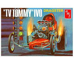 AMT TV Tommy Ivo AA/F Dragster 1/25 Scale Plastic Model Car Kit AMT