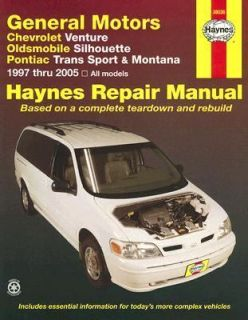 General Motors Chevrolet Venture, Oldsmobile Silhouette, Pontiac Trans