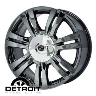 CADILLAC SRX 2010 2012 PVD Black Chrome Wheels Rims Factory 4664