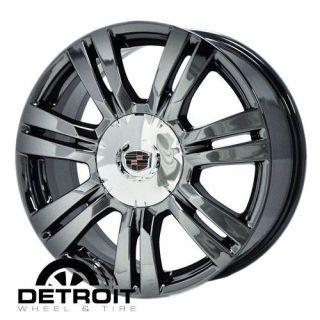 CADILLAC SRX 2010 2012 PVD Black Chrome Wheels Rims Factory 4664