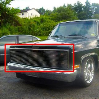 81~83 Chevy GMC Pickup Phantom Billet Grille 86 Grill (Fits More than