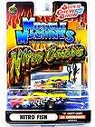 MUSCLE MACHINES NITRO COUPE NITRO FISH 41 CHEVY COUPE 1:64 DIE CAST