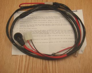 CHEVY TRUCK ALTERNATOR CONVERSION WIRE HARNESS (Fits Chevrolet Truck