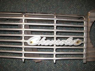 Chevrolet 1964 Impala Front Radiator Grille Chrome with Chevy emblem