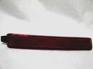 Chevy Traverse 07 GMC Acadia Saturn Outlook Rear Bumper Reflector
