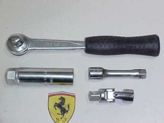 Ferrari Spark Plug Wrench Tool Ratchet Extension USAG