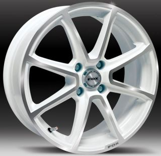 15 WHITE FX2 ALLOY WHEELS FITS FORD FIESTA BST