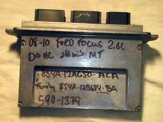 08 09 10 FORD FOCUS 2.0L DOHC MT ECM ECU PCM PCU ENGINE COMPUTER 8S4A