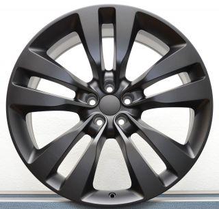 Charger 2012 SRT8 Satin Black 300C Magnum Challenger Wheels Rims Set