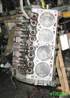 CHRYSLER/DODGE 318 ENGINE REBUILDABLE SHORT BLOCK 1998 #17529