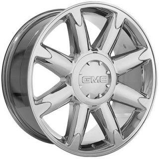 20 inch GMC 2009 yukon denali sierra chrome wheels rims