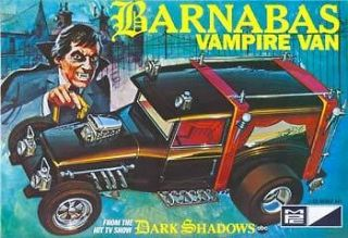 MPC 1/25 SCALE BARNABAS VAMPIRE VAN FROM THE DARK SHADOWS TV SHOW