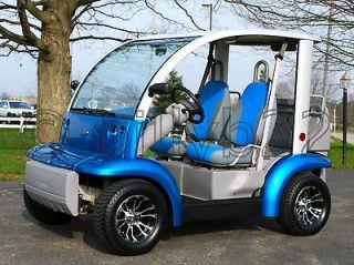 Ford Think Neighbor 72 Volt Electric Golf Cart Gem Car, NEW Batteries