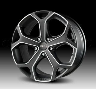 MOMO Car Wheel Rim Dark Blade Anthracite 17 x 7.5 inch 5 on 112 mm