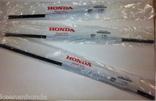 Genuine OEM Honda Odyssey Rubber Wiper Insert Set Front and Rear 2008