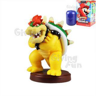 Furuta 2012 Super Mario Bros King Bowser Koopa Action Figure Wii vol 3