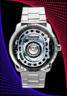 Mazda RX7 Turbo Engine Parts Mens Watch # 3 RX3 RX8 6 Watch