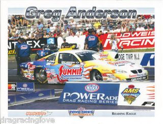 Greg Anderson Summit Pontiac Grand Am ONE Race LIMITED EDT. 2005