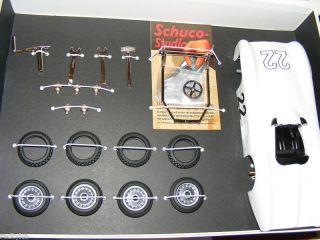 Schuco Mercedes Benz W196 WHITE kit Clockwork Studio