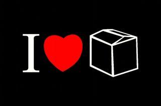 LOVE (HEART) BOX CUBE STICKER DECAL FOR NISSAN GQ GU PATROL TOYOTA