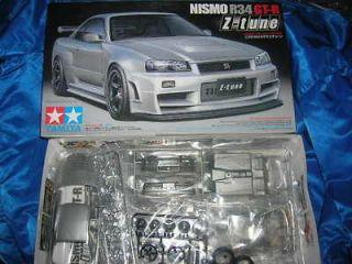 24282 TAMIYA Nissan Skyline GT R R34 Z Tune Car Model Kit 1/24
