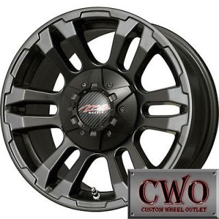 18 Black MB TKO Wheels Rims 5x150 5 Lug Dodge Toyota Tundra Sequoia