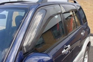 Suzuki Grand Vitara 1998 2005 Wind Deflectors Rain Shields Shades