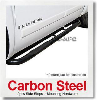 03 07 Volvo XC90 Black Nerf Bars (Fits Volvo XC90)