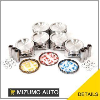 01 05 Suzuki Grand Vitara Chevrolet Tracker 2.5L H25A DOHC 24V Pistons