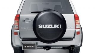 2006 2012 SUZUKI GRAND VITARA 27 VINYL TIRE COVER GENUINE OEM 990B0
