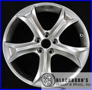 09 10 11 12 TOYOTA VENZA 20 HYPERSILVER 5 SPOKE WHEEL OEM FACTORY RIM