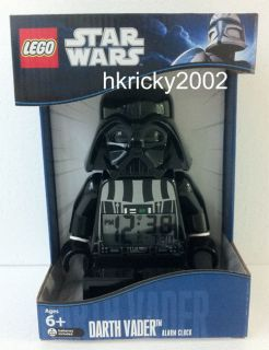 Lego Star Wars Darth Vader Alarm Clock Figure