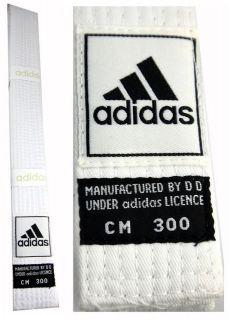 Adidas Taekwondo Karate Kendo Judo Martial Arts White Belt 220 320cm