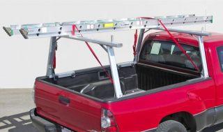 Aluminum Truck Utility Ladder Rack for Tundra, Tacoma with Cargo