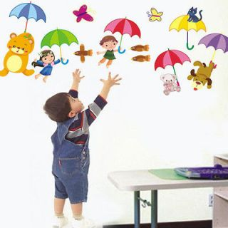 Kids & Animals Wall Art Cute Decal Wall Sticker Removable HOT