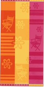 100% Egyptian Cotton Velour Beach Towel 12 Colorful Designs Luxurious
