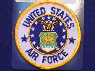 US Military United States Air Force  w/ Insignia in full color