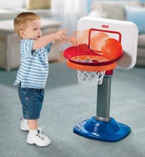 Fisher Price Basketball Hoop Toy Kids Toddler lndoor