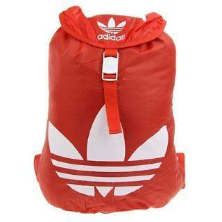 Retro Red / White Adidas originals SST backpack vintage scott rare bag