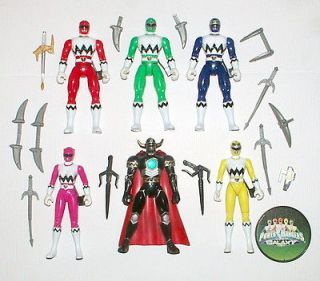 power rangers lost galaxy toys in TV, Movie & Video Games