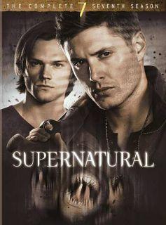 Supernatural The Complete Seventh Season DVD, 2012, 6 Disc Set