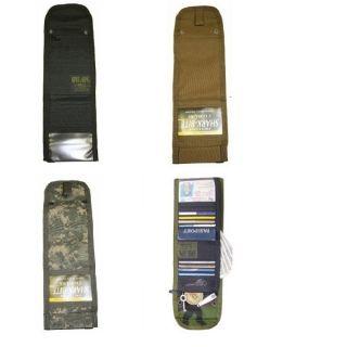 Ops T.H.E. Wallet   Tri Fold   ACU, Black, MultiCam , Coyote Brown