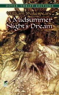 Midsummer Nights Dream by William Shakespeare 1992, Paperback