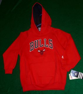 Chicago Bulls sweat shirt hoodie Brand New official NBA basketball Y
