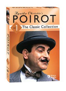 Agatha Christies Poirot The Classic Collection   Set 1 DVD, 2009, 3