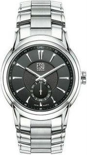 Mens ESQ Esquire by Movado Steel Quest Watch 07301327