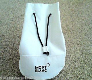 MONTBLANC LARGE SHOULDER DUFFLE BAG. IDEAL HOLIDAYS, GYM, WEEKEND